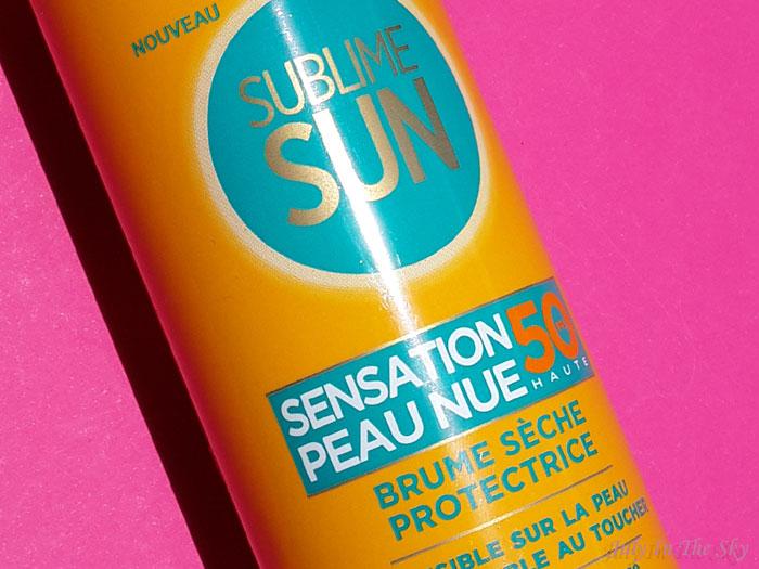 Encore une déception solaire avec la Sublime Sun Brume Sensation Peau Nue de L'Oréal
