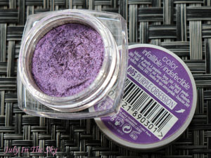 blog beauté make-up of the day réveillon argent violet givré dare to dazzle dose of colors avis test swatch color infaillible l'oréal purple obsession