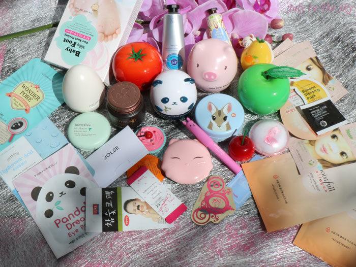 blog beauté haul jolse tony moly etude house holika holika the face shop innisfree