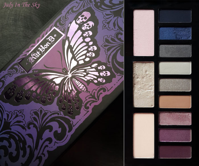 blog beauté kat von d france chrysalis swatch
