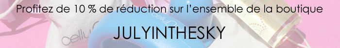 blog beauté partenariat code réduction Cellublue