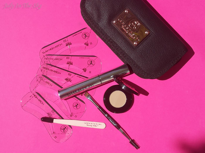 blog beauté routine sourcils blonds anastasia beverly hills brow kit