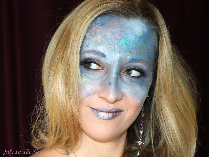 blog beauté monthe make up fever galaxie mercury galaxy make-up artistique