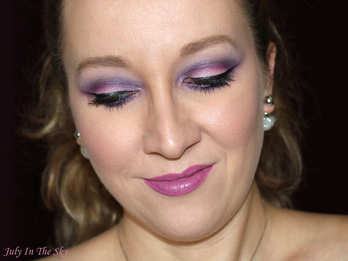blog beauté make-up noel cut crease