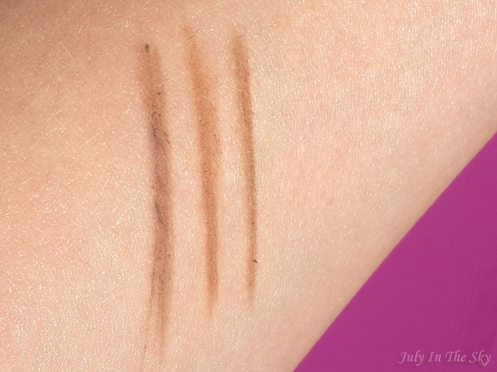 blog beauté swatch drawing eye brow etude house light brown crayon sourcils retractable waterproof sephora