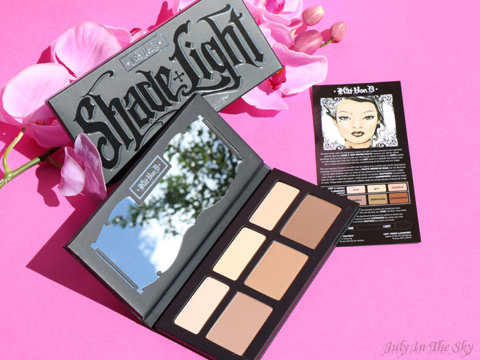 blog beauté kat von d shade + light contour palette