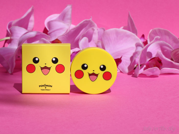 blog beauté tonymoly pokemon pikachu cushion blusher