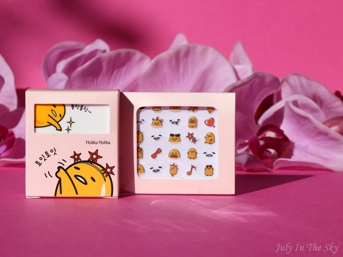Lazy & Joy Party Up Nail Kit d'Holika Holika x Gudetama : joie et allégresse