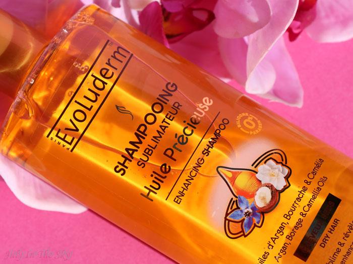 blog beauté evoluderm huile precieuse shampooing sublimateur