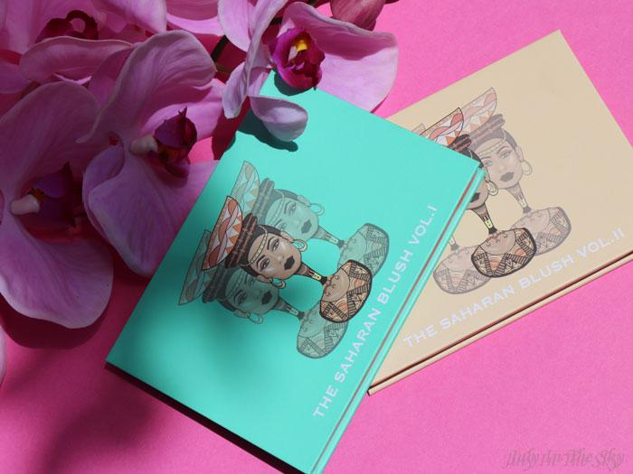 blog beauté juvia's place the saharan blush palette vol.1 et 2