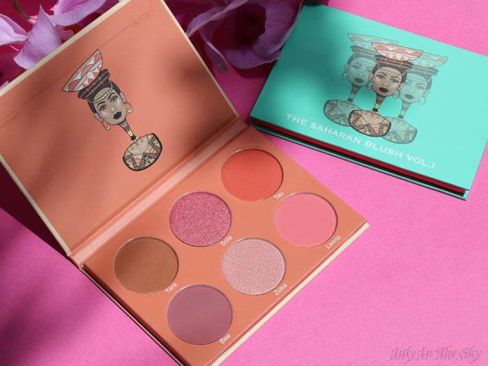 blog beauté juvia's place the saharan blush palette vol.2