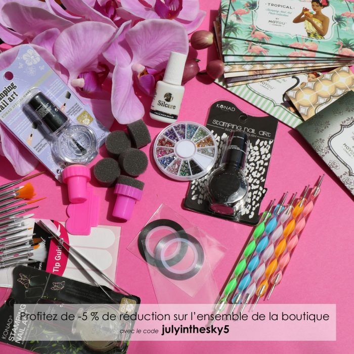 blog beauté code réduction nail art boutique