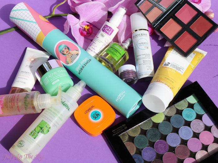 blog beauté favoris printemps 2016 makeup geek moyou elf bioderma melvita