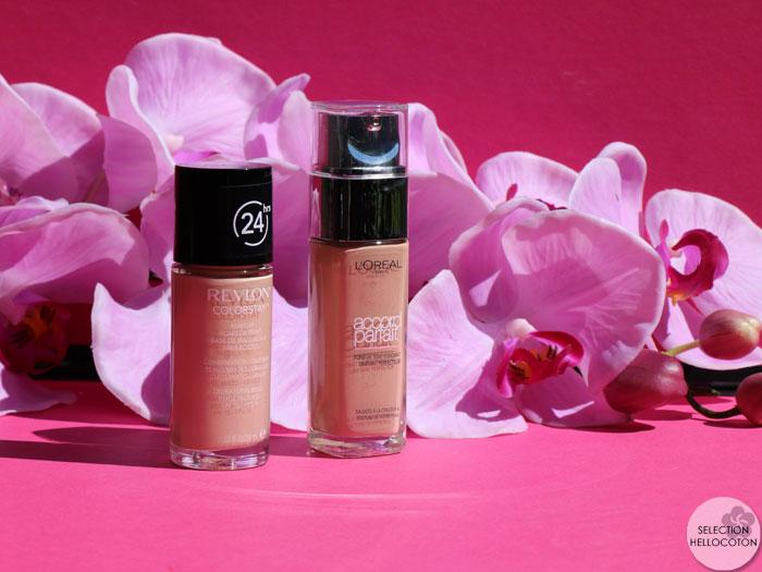 Le match des fonds de teint à petit prix : Revlon VS L'Oréal