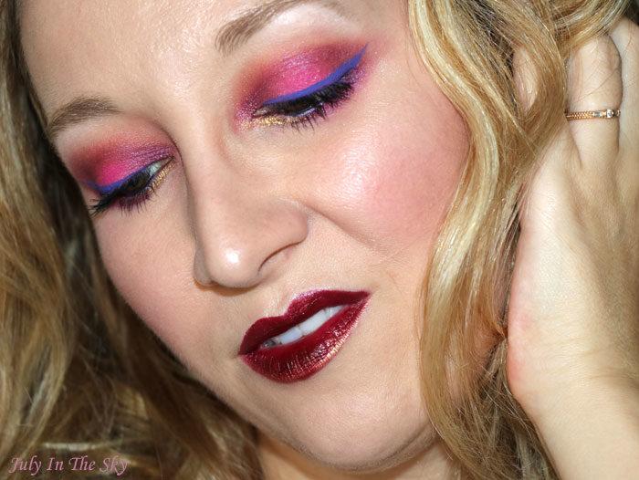 blog beauté maquillage monday shadow challenge bitchy fuchsia jeffree star beauty killer