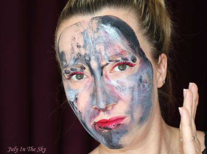 blog beauté maquillage monday shadow challenge grey gris dorian
