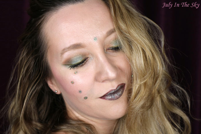 blog beauté monday shadow challenge tribal bronze