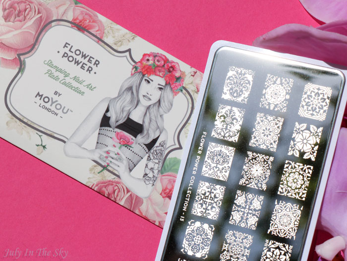 blog beauté haul nail art boutique plaque moyou london 13
